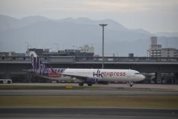 hachiさんが、福岡空港で撮影した香港エクスプレス A321-231の航空フォト(飛行機 写真・画像)