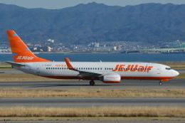 Deepさんが、関西国際空港で撮影したチェジュ航空 737-8ASの航空フォト(飛行機 写真・画像)