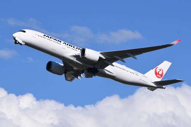 航空フォト:JA12XJ 日本航空 A350-900