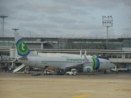 anagumaさんが、パリ オルリー空港で撮影したトランサヴィア・フランス 737-8K2の航空フォト(飛行機 写真・画像)