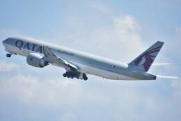 takikoki50000さんが、関西国際空港で撮影したカタール航空カーゴ 777-Fの航空フォト(飛行機 写真・画像)