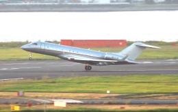 チャレンジャーさんが、羽田空港で撮影したビスタジェット BD-700-1A10 Global 6000の航空フォト(飛行機 写真・画像)