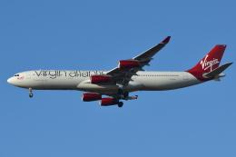 Deepさんが、成田国際空港で撮影したヴァージン・アトランティック航空 A340-313Xの航空フォト(飛行機 写真・画像)