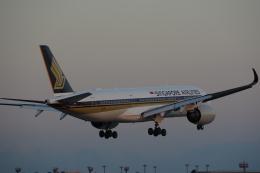 JA8037さんが、成田国際空港で撮影したシンガポール航空 A350-941の航空フォト(飛行機 写真・画像)