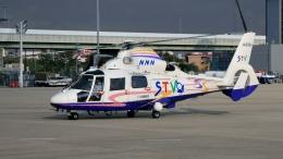 航空見聞録さんが、伊丹空港で撮影した北海道航空 AS365N2 Dauphin 2の航空フォト(飛行機 写真・画像)
