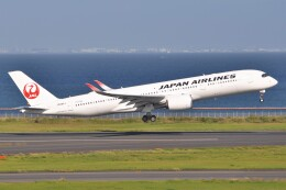 fly A340さんが、羽田空港で撮影した日本航空 A350-941の航空フォト(飛行機 写真・画像)