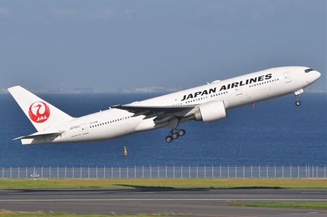 航空フォト:JA701J 日本航空 777-200