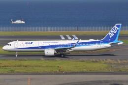 fly A340さんが、羽田空港で撮影した全日空 A321-272Nの航空フォト(飛行機 写真・画像)