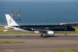 jr2rqcさんが、中部国際空港で撮影したスターフライヤー A320-214の航空フォト(飛行機 写真・画像)