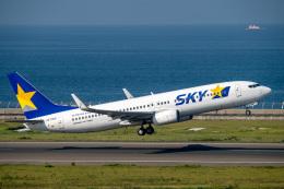 jr2rqcさんが、中部国際空港で撮影したスカイマーク 737-82Yの航空フォト(飛行機 写真・画像)