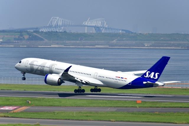 航空フォト:SE-RSB スカンジナビア航空 A350-900