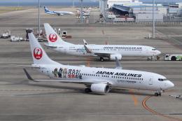 クロマティさんが、中部国際空港で撮影した日本航空 737-846の航空フォト(飛行機 写真・画像)