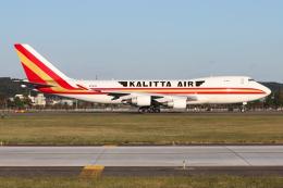 シン・マリオ先輩さんが、横田基地で撮影したカリッタ エア 747-4B5F/SCDの航空フォト(飛行機 写真・画像)