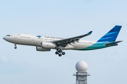 Ariesさんが、関西国際空港で撮影したガルーダ・インドネシア航空 A330-243の航空フォト(飛行機 写真・画像)