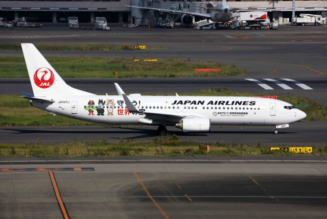 航空フォト:JA337J 日本航空 737-800