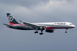 Ariesさんが、関西国際空港で撮影したSF エアラインズ 757-2Z0(SF)の航空フォト(飛行機 写真・画像)