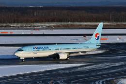 Deepさんが、新千歳空港で撮影した大韓航空 737-9B5の航空フォト(飛行機 写真・画像)