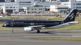 Garnet Worldさんが、福岡空港で撮影したスターフライヤー A320-214の航空フォト(飛行機 写真・画像)