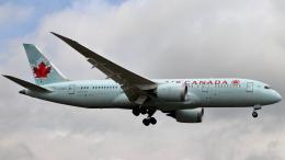 誘喜さんが、ロンドン・ヒースロー空港で撮影したエア・カナダ 787-8 Dreamlinerの航空フォト(飛行機 写真・画像)