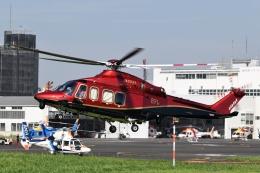 Mizuki24さんが、東京ヘリポートで撮影した日本法人所有 AW139の航空フォト(飛行機 写真・画像)