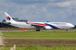 KoshiTomoさんが、成田国際空港で撮影したマレーシア航空 A330-323Xの航空フォト(飛行機 写真・画像)