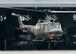 ビッグジョンソンさんが、高遊原分屯地で撮影した陸上自衛隊 UH-1Jの航空フォト(飛行機 写真・画像)