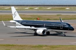 Ariesさんが、中部国際空港で撮影したスターフライヤー A320-214の航空フォト(飛行機 写真・画像)