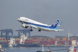 やまけんさんが、羽田空港で撮影した全日空 A320-271Nの航空フォト(飛行機 写真・画像)