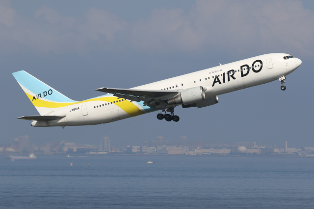 2021年10月10日に撮影されたAIR DO (エア・ドゥ)の航空機写真