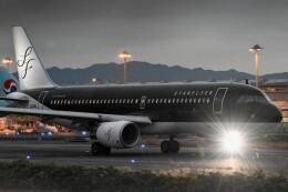 M.Tさんが、関西国際空港で撮影したスターフライヤー A320-214の航空フォト(飛行機 写真・画像)