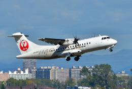 パンダさんが、札幌飛行場で撮影した北海道エアシステム ATR 42-600の航空フォト(飛行機 写真・画像)