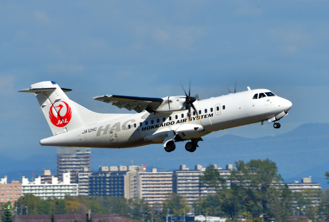 2021年10月12日に撮影された北海道エアシステムの航空機写真