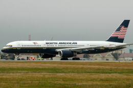 doncyanさんが、横田基地で撮影したノースアメリカン航空 757-28Aの航空フォト(飛行機 写真・画像)