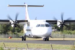 さとさとさんが、喜界空港で撮影した日本エアコミューター ATR 42-600の航空フォト(飛行機 写真・画像)