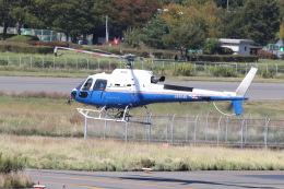 プルシアンブルーさんが、松本空港で撮影した東邦航空 AS350B3 Ecureuilの航空フォト(飛行機 写真・画像)