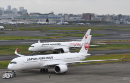 チャーリーマイクさんが、羽田空港で撮影した日本航空 A350-941の航空フォト(飛行機 写真・画像)