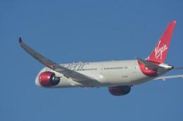 小弦さんが、サンフランシスコ国際空港で撮影したヴァージン・アトランティック航空 787-9の航空フォト(飛行機 写真・画像)
