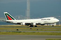 doncyanさんが、関西国際空港で撮影したアリタリア航空 747-228F/SCDの航空フォト(飛行機 写真・画像)