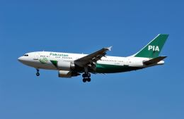 パール大山さんが、成田国際空港で撮影したパキスタン国際航空 A310-308の航空フォト(飛行機 写真・画像)