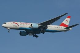 Deepさんが、成田国際空港で撮影したオーストリア航空 777-2Q8/ERの航空フォト(飛行機 写真・画像)