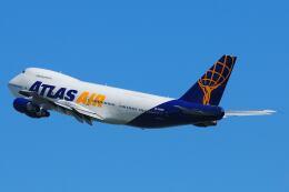 doncyanさんが、香港国際空港で撮影したアトラス航空 747-2D7B(SF)の航空フォト(飛行機 写真・画像)