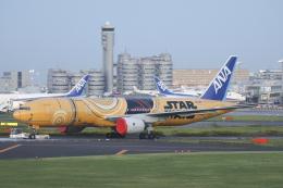 Sharp Fukudaさんが、羽田空港で撮影した全日空 777-281/ERの航空フォト(飛行機 写真・画像)