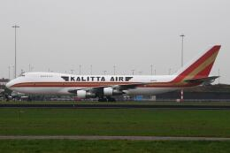 doncyanさんが、アムステルダム・スキポール国際空港で撮影したカリッタ エア 747-122(SF)の航空フォト(飛行機 写真・画像)