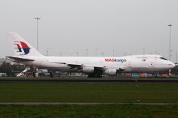 doncyanさんが、アムステルダム・スキポール国際空港で撮影したマレーシア航空 747-236B(SF)の航空フォト(飛行機 写真・画像)