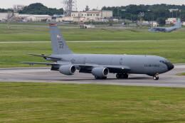 Koenig117さんが、嘉手納飛行場で撮影したアメリカ空軍 KC-135R Stratotanker (717-148)の航空フォト(飛行機 写真・画像)