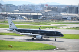 どんちんさんが、福岡空港で撮影したスターフライヤー A320-214の航空フォト(飛行機 写真・画像)
