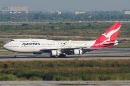 doncyanさんが、スワンナプーム国際空港で撮影したカンタス航空 747-48Eの航空フォト(飛行機 写真・画像)