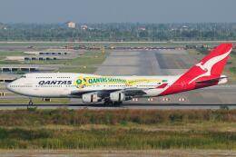 doncyanさんが、スワンナプーム国際空港で撮影したカンタス航空 747-438の航空フォト(飛行機 写真・画像)