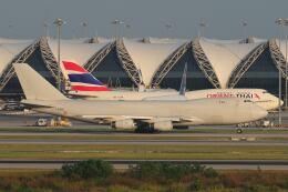 doncyanさんが、スワンナプーム国際空港で撮影したカーゴルクス 747-4R7F/SCDの航空フォト(飛行機 写真・画像)