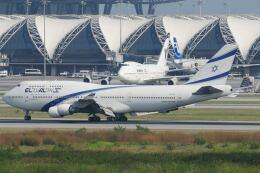 doncyanさんが、スワンナプーム国際空港で撮影したエル・アル航空 747-458の航空フォト(飛行機 写真・画像)